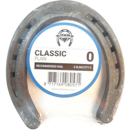 Diamond Classic Plain Front & Hind 5 In. Horseshoe (1-Pair)
