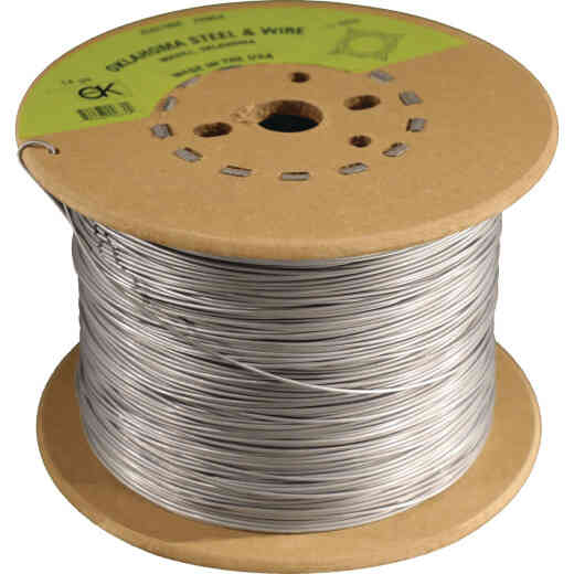 Oklahoma Steel & Wire 1/2-Mile x 17 Ga. Steel Electric Fence Wire