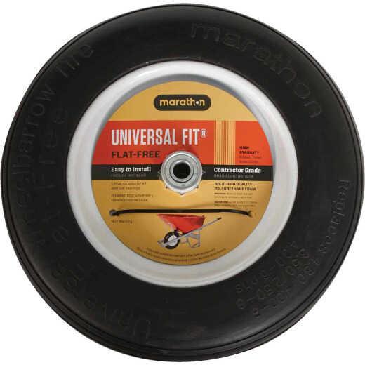 Marathon 14.5 In. Universal Flat Free Wheelbarrow Wheel
