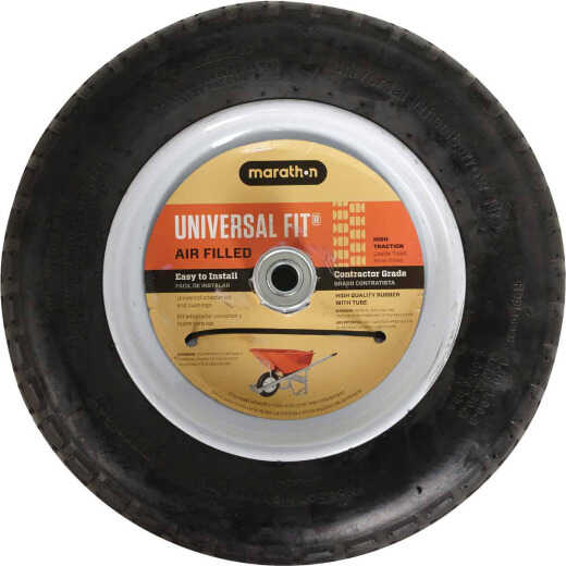 Marathon 14.5 In. Universal Pneumatic Wheelbarrow Wheel