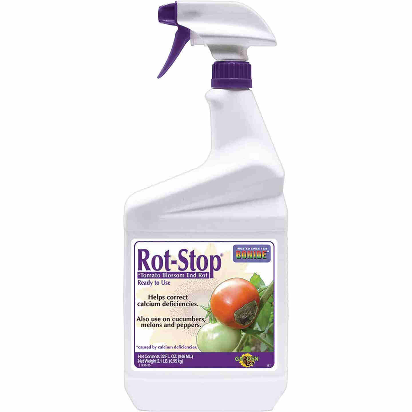Bonide Rot Stop 32 Oz. Ready To Use Trigger Spray Blossom End Rot Preventer Image 1