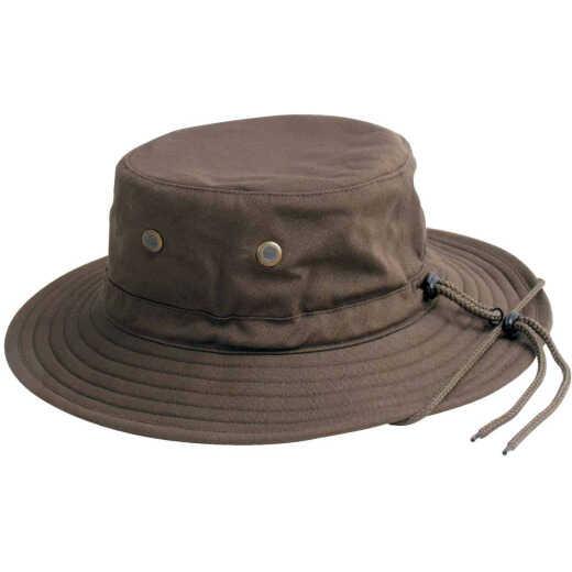 Sloggers Men's Dark Brown Cotton Bucket Hat