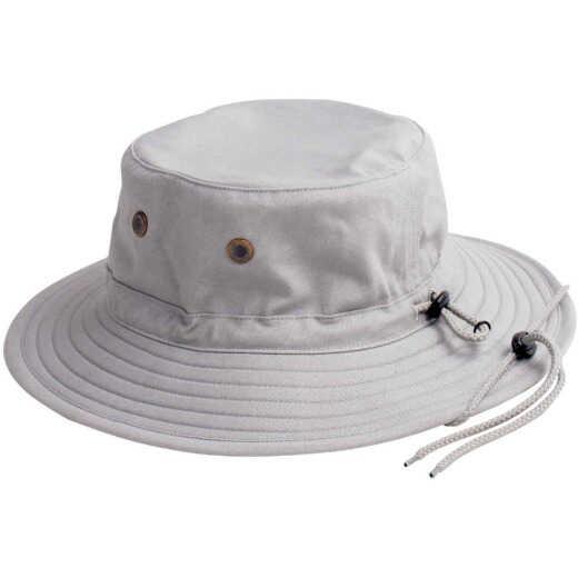 Sloggers Men's Gray Cotton Bucket Hat