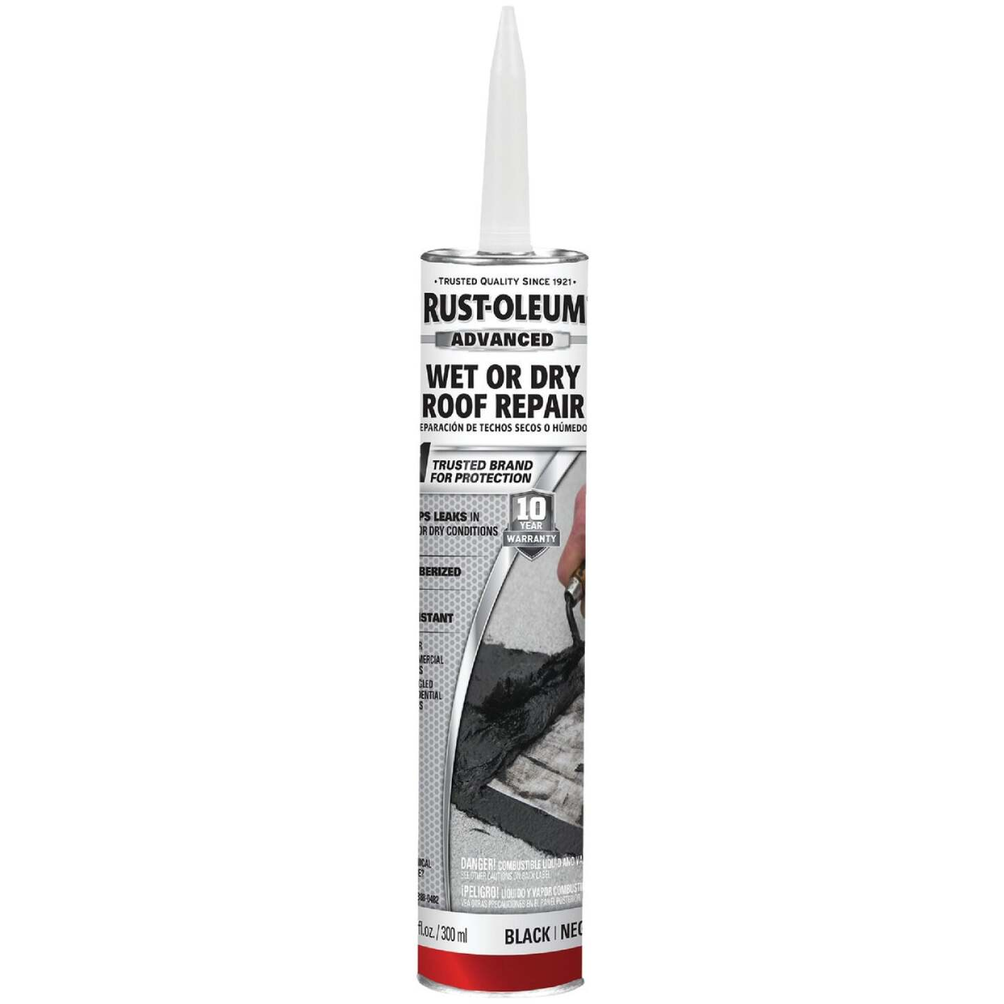 Rust-Oleum 10.1 Oz. Roofing Repair Wet Patch Image 1