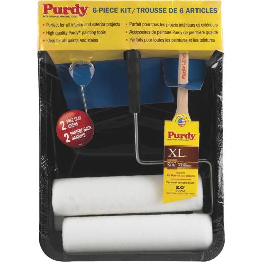 Purdy 9 In. 3/8 In. Woven Roller & Tray Set
