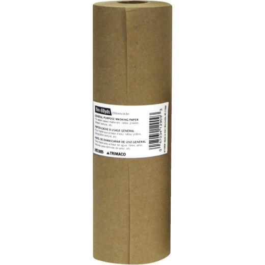 Trimaco 9 In. x 180 Ft. Brown Masking Paper