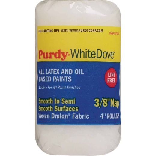 Purdy White Dove 4 In. x 3/8 In. Woven Fabric Roller Cover