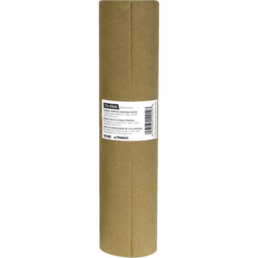 Trimaco 12 In. x 180 Ft. Brown Masking Paper