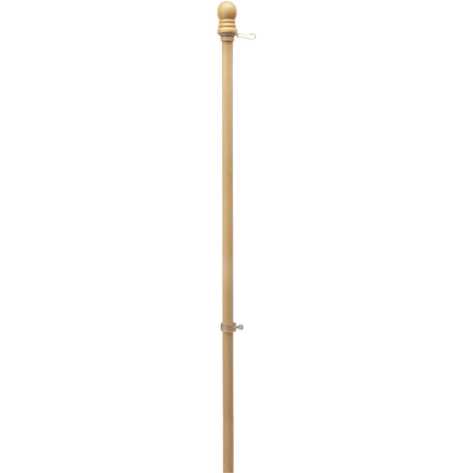 Valley Forge 5 Ft. x 1 In. Wood Anti-Wrap Flag Pole