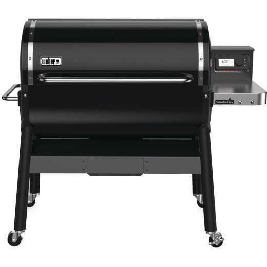 Weber SmokeFire EX6 Black 1008 Sq. In. Wood Pellet Grill