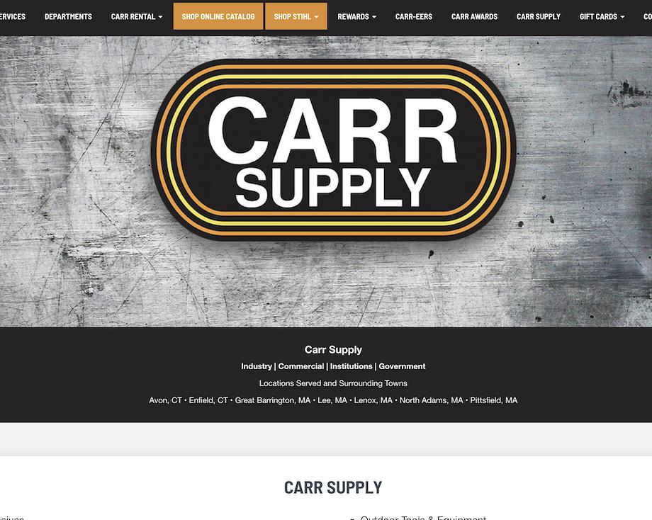 CARR SUPPLY